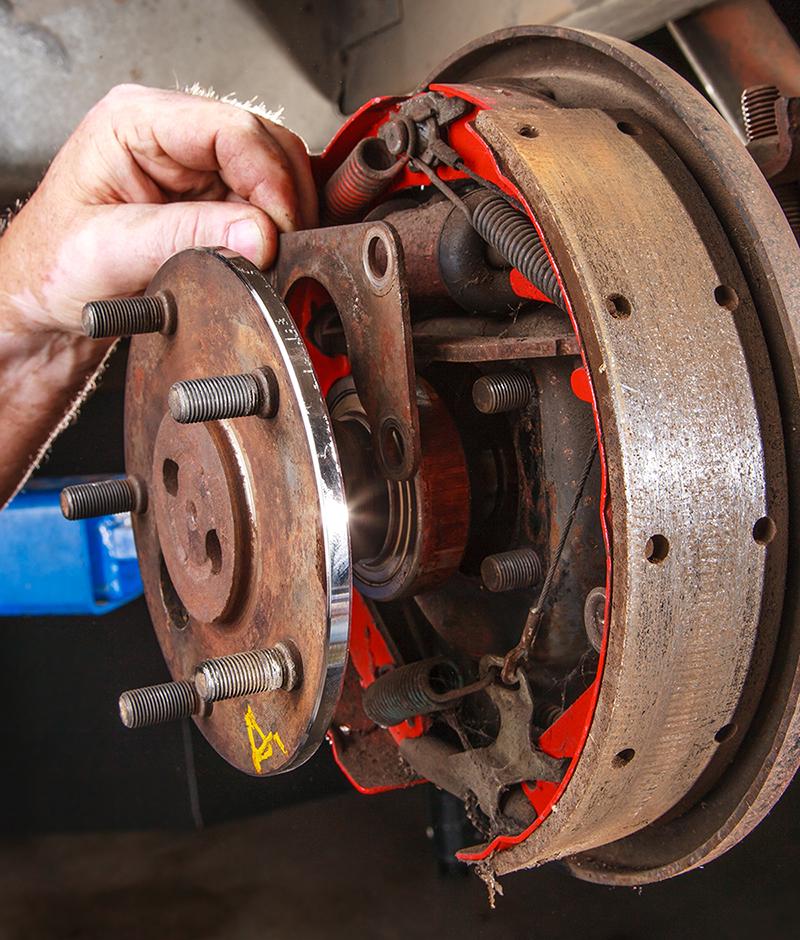 Dutch Miller Dodge >> 1974 ford Econoline van 4 wheel disc brake conversation ...