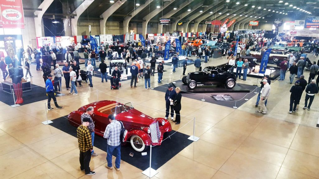 2018 Grand National Roadster Show AMBR Show Floor