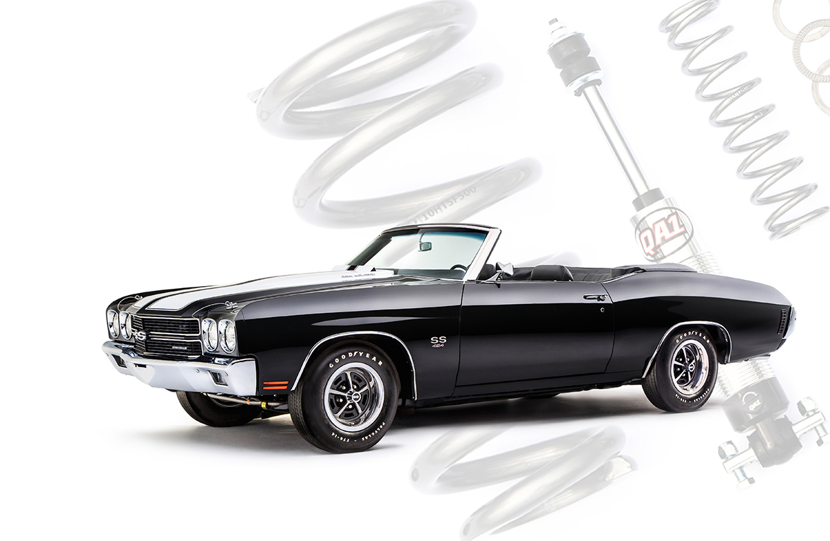 Lowering A 1970 Chevelle With Qa 1 Coil Overs How To