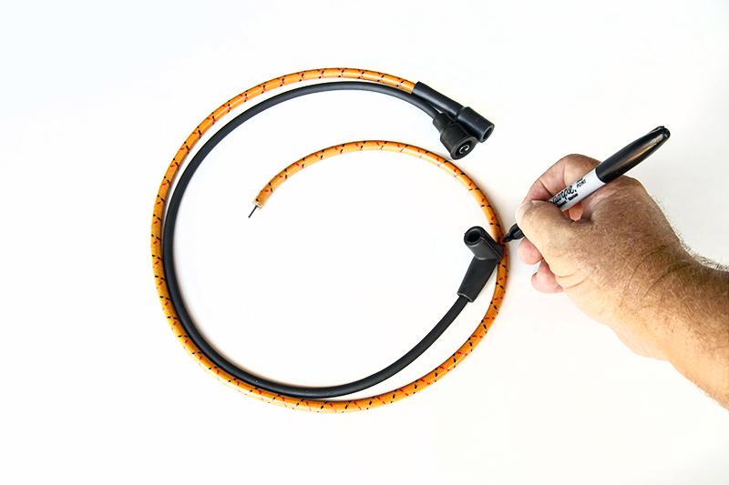 unusual vintage spark plug wires photos