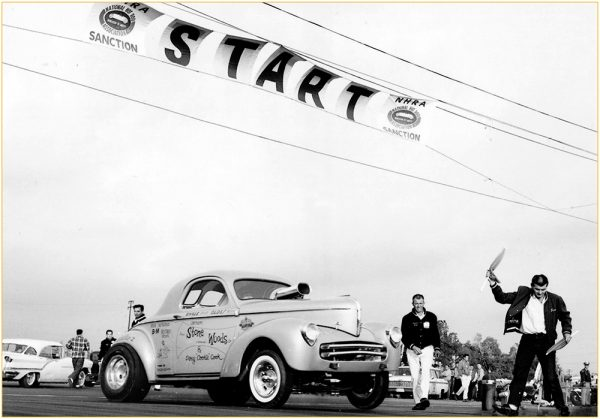 The iconic Stone, Woods and Cook Willys Gasser. The NHRA\'s all time ...